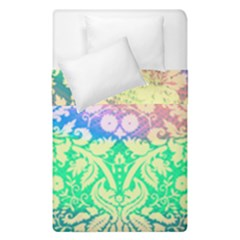 Hippie Fabric Background Tie Dye Duvet Cover Double Side (single Size) by Mariart