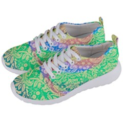 Hippie Fabric Background Tie Dye Men s Lightweight Sports Shoes by Mariart