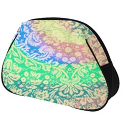 Hippie Fabric Background Tie Dye Full Print Accessory Pouch (big)