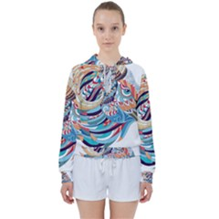 Goat Sheep Ethnic Women s Tie Up Sweat