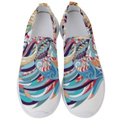 Goat Sheep Ethnic Men s Slip On Sneakers by Mariart