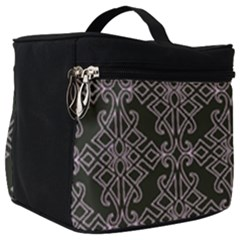 Line Geometry Make Up Travel Bag (big) by Mariart
