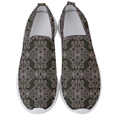Line Geometry Men s Slip On Sneakers by Mariart