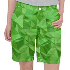 Mosaic Tile Geometrical Abstract Pocket Shorts by Mariart