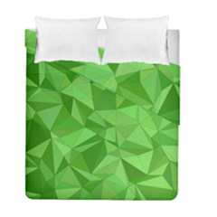 Mosaic Tile Geometrical Abstract Duvet Cover Double Side (full/ Double Size)