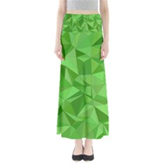 Mosaic Tile Geometrical Abstract Full Length Maxi Skirt by Mariart
