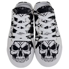 Kerchief Human Skull Half Slippers by Mariart