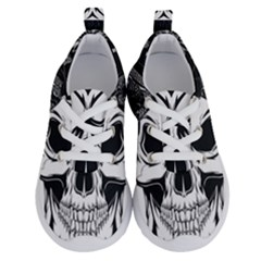 Kerchief Human Skull Running Shoes by Mariart