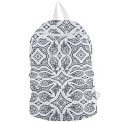Mandala Line Art Foldable Lightweight Backpack by Mariart