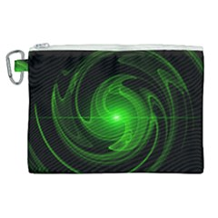 Lines Rays Background Light Canvas Cosmetic Bag (xl)