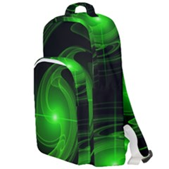Lines Rays Background Light Double Compartment Backpack