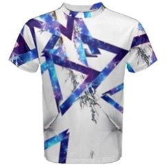 Metal Triangle Men s Cotton Tee