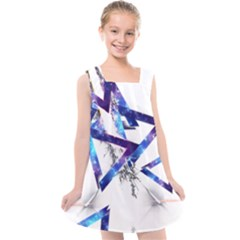 Metal Triangle Kids  Cross Back Dress by Mariart