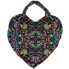 Ml 23 Giant Heart Shaped Tote