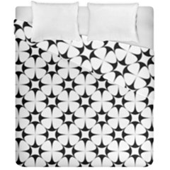 Star Background Duvet Cover Double Side (california King Size)