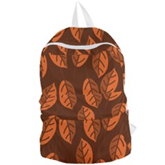 Pattern Leaf Plant Foldable Lightweight Backpack by Mariart