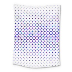 Star Curved Background Geometric Medium Tapestry by Mariart