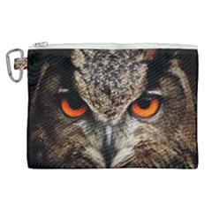 Owl s Scowl Canvas Cosmetic Bag (xl) by WensdaiAddamns