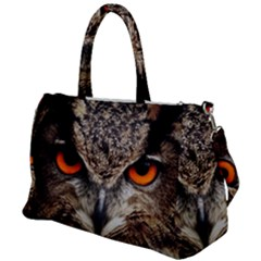 Owl s Scowl Duffel Travel Bag by WensdaiAddamns