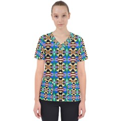 Ml 34 Women s V Neck Scrub Top