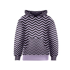 Chevron  Effect  Kids  Pullover Hoodie by TimelessFashion