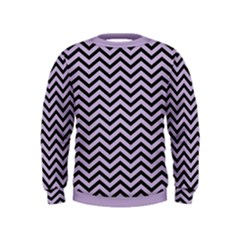 Chevron  Effect  Kids  Sweatshirt