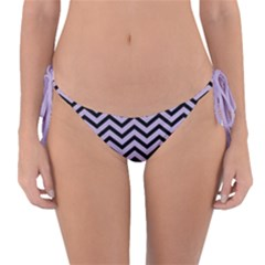 Chevron  Effect  Reversible Bikini Bottom