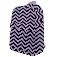 Chevron  Effect  Classic Backpack by TimelessFashion