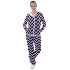 Chevron  Effect  Women s Tracksuit
