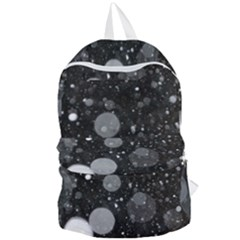 Splatter   Grayscale Foldable Lightweight Backpack