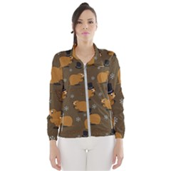 Groundhog Day Pattern Windbreaker (women)
