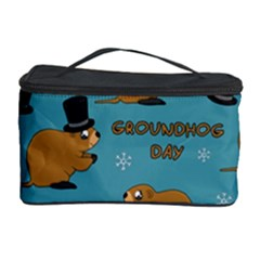 Groundhog Day Pattern Cosmetic Storage