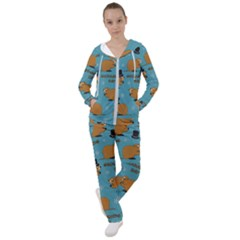 Groundhog Day Pattern Women s Tracksuit