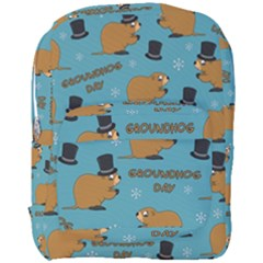 Groundhog Day Pattern Full Print Backpack