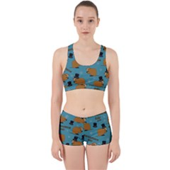 Groundhog Day Pattern Work It Out Gym Set