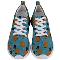 Groundhog Day Pattern Men s Lightweight Sports Shoes