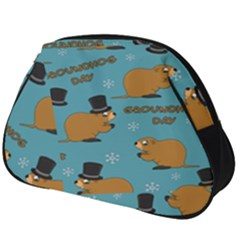 Groundhog Day Pattern Full Print Accessory Pouch (big)