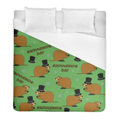 Groundhog Day Pattern Duvet Cover (full/ Double Size)