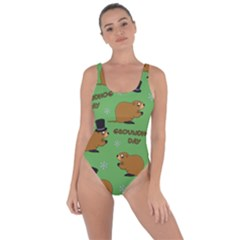 Groundhog Day Pattern Bring Sexy Back Swimsuit