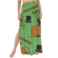 Groundhog Day Pattern Maxi Chiffon Tie Up Sarong