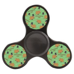 Groundhog Day Pattern Finger Spinner