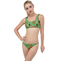 Groundhog Day Pattern The Little Details Bikini Set