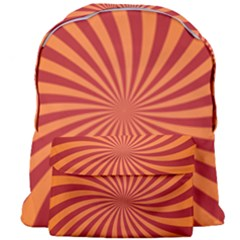 Spiral Swirl Background Vortex Giant Full Print Backpack by Mariart