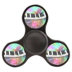 Piano Keys Music Colorful Finger Spinner by Mariart