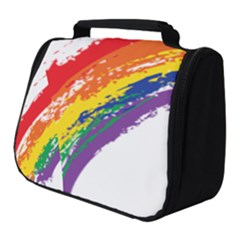 Watercolor Painting Rainbow Full Print Travel Pouch (small) by Mariart