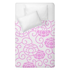Peony Spring Flowers Duvet Cover Double Side (single Size)