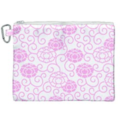 Peony Spring Flowers Canvas Cosmetic Bag (xxl) by Mariart