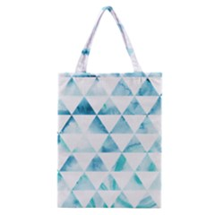 Hipster Triangle Pattern Classic Tote Bag by AnjaniArt