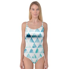 Hipster Triangle Pattern Camisole Leotard