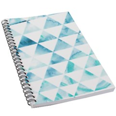 Hipster Triangle Pattern 5 5  X 8 5  Notebook by AnjaniArt